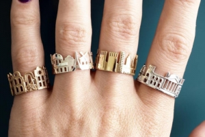 mymodernmet:  Architecture Rings Celebrate the World's Iconic...