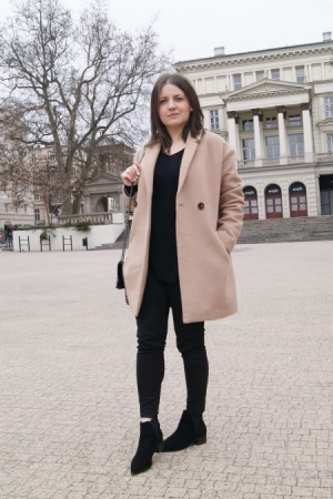 Outfit | Camel Coat